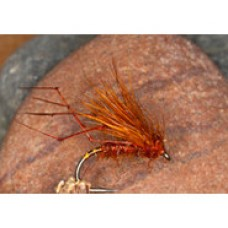 Fiery brown half hog hopper